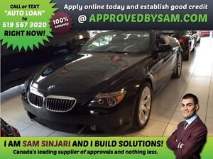 BMW 650i - APPLY WHEN READY TO BUY @ APPROVEDBYSAM.COM