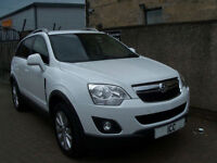 "14 14 VAUXHALL ANTARA 2.2 CDTI 4X4 EXCLUSIV 5DR 1 OWNER 18""ALLOYS BLUETOOTH LTHR"