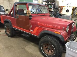 Rare 1981 CJ8 scrambler, nicely running and driving
