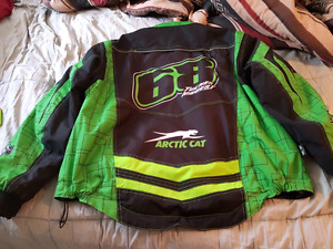 Tucker Hibbert snowmobile coat