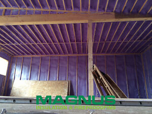 Spray Foam Insulation - Best cost effective insulation available