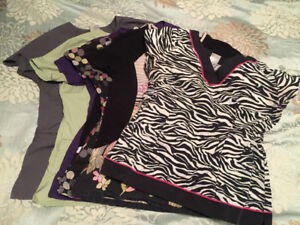 Assorted Scrub tops for Sale