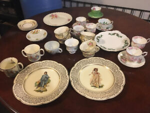 Bone China cups and plates