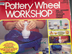 Pottery Clay moulding Wheel