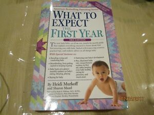 Book - What to Expect in the First Year - Like New