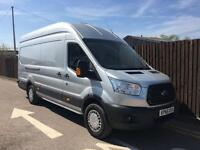 Ford Transit Jumbo 2.2TDCi 155PS RWD 350 L4H3 Trend in Silver + Options - Onsite