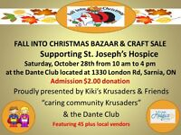 FALL INTO CHRISTMAS BAZAAR & CRAFT SALE SUPPORTING