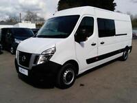Nissan NV400 2.3DCi 125PS SE L3 H2 9 Seat Welfare Van