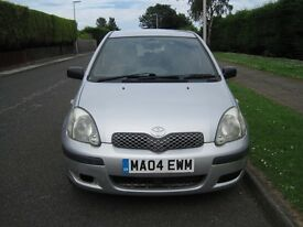 Toyota Yaris silver 5 door. Good runner. Long MOT