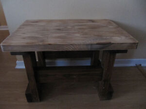 Sturdy small table