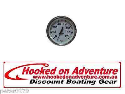 Ultraflex Tachometer 0-6000 White HOA86112