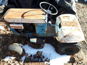 racing lawn mower and parts