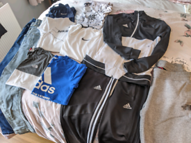 Boys bundle Nike Adidas Northface