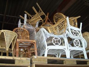 Fantastic Assemblage of Wicker From Cuba - solid - Superb select