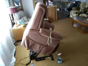 For sale one lift chair