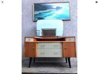 Vintage 1960s Dressing Table Desk Sideboard G Plan Style
