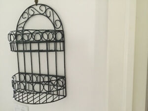 Metal wall decoration for indoors or outdoors