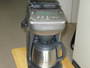 Breville grind and brew coffee maker