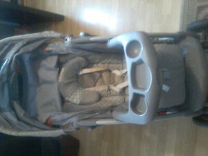 Stroller, infant car seat, stroller rain cover and winter bag