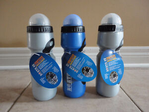 Lot of 3 reusable plastic sports water bottles New with tags