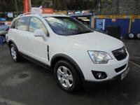 2012 62 VAUXHALL ANTARA 2.2 CDTI EXCLUSIV 4X4 IN WHITE # ONE OWNER LOW MILEAGE