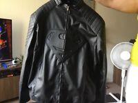 Black Superman Jacket, £65.00