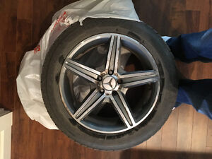 Mercedes GLK 350 winter Tires and Rims