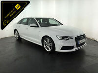 WHITE 2014 AUDI A6 S LINE TDI DIESEL 4 DOOR SALOON 175 BHP 1 OWNER FINANCE PX