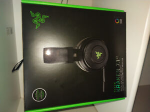 Razer Kraken 7.1 V2 Headset Digital USB Chroma (1 Day Use)