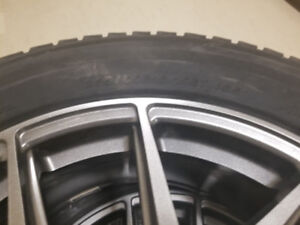"99% Yokohama iceGuard 235 65 18 Tire w/ 18"" Alloy wheel 5x108"