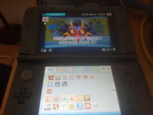 New 3ds downloaded with 6 zeldas and fire emblem awakening