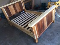 Hand Made Solid Wood Bed Frames