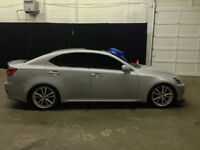 2006 Lexus IS250 6 Speed Manual!!! LOW KM!