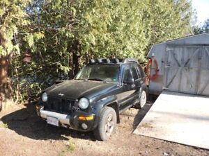 2003 Jeep Liberty for parts