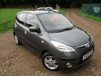 2009 HYUNDAI I10 STYLE * ELECRIC SUNROOF AND A/CON * HEATED FRONT SEATS * HATCHB
