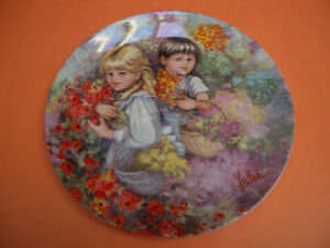 SET OF 4 WEDGWOOD COLLECTOR PLATES RIDING HIGH, OUR GARDEN PLUS London Ontario image 5