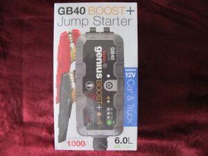Genius GB40 Boost   Jump Starter