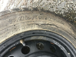 Will deliver! 4x 195/60R15 winter tires $650 price negotiable