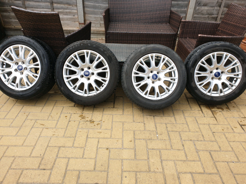 Ford Focus Alloy Wheels And Tyres In Ashford Surrey Gumtree