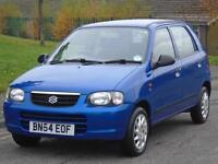 SUZUKI ALTO 1.1 GL,,2 OWNERS ,64000 MILS,ONLY £30 TAX A YEAR,LOW GROUP INSURANCE