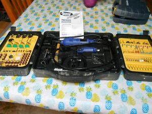 Rotary Tool Set Light & Heavy Tool Over 200 pieces