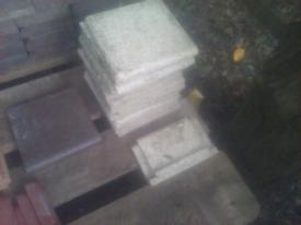 Antique original quarry tiles
