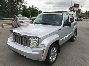 2008 Jeep Liberty Limited Edition**Leather, Low KM, WARRANTY**
