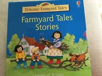 Box of 20 farmyard tales books