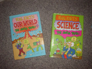 """FOUL FACTS Books - """"Science""""  & """"Our World"""" Fun kids' books"""
