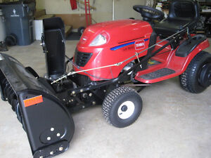 """Snowblower 42"""" attachment for Lawn Tractor for sale $500 obo Prince George British Columbia image 1"""