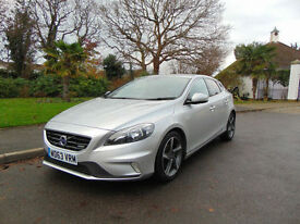 Magnificent 2013 Volvo V40 1.6 D2 R-Design Beautiful Condition Drives Superb