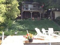 WATERFRONT COTTAGE-CHESLEY LAKE