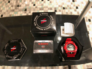G-Shock Colour Red