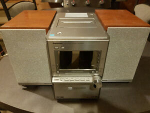 70W Audio System with DVD, CD, inputs and tuner
